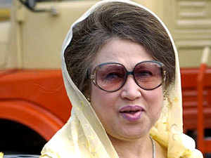 Bangladesh's former premier and key-opposition party outside parliament BNP chief Khaleda Zia was today granted bail after she surrendered before a court here over a nearly $2 billion graft case dating back to 2007.