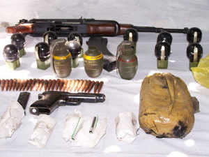 (Representative picture) Security forces have busted a militant hideout and recovered huge quantity of arms and ammunition in Poonch district of Jammu and Kashmir.