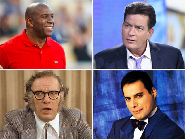 Last month Charlie Sheen sent shock-waves across the world when he admitted to being HIV-positive.