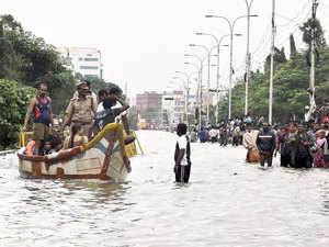 """This will have a cascading impact for a prolonged period even after the floods are over,"""" Cyril C George, deputy chairman at the Chennai Port, told ET."""