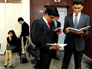 Students from three top Indian Institutes of Management are making inroads into the world of consultancy services, even as they continue at the colleges.