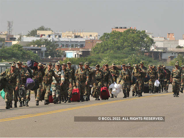 Tambaram and Mudichur among worst hit - How Indian army is helping