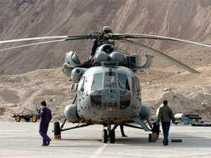 (In pic: Mi 17) The decks have been cleared for India to deliver four MI 25 attack helicopters to Afghanistan this month, signaling a decisive shift in New Delhi's approach.