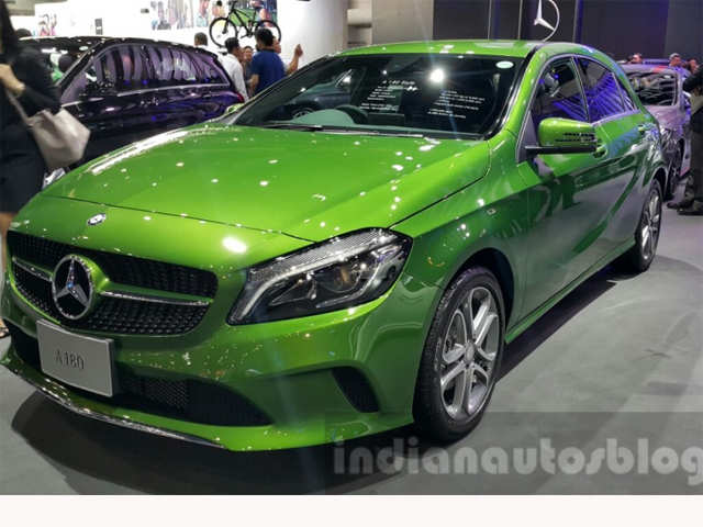 Minimal changes - 2016 Mercedes A Class (facelift) launched in India
