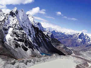 Part of the report, which was released yesterday, also said Mt Everest, known as Mount Qomolangma in Tibet, has been getting warmer for the past 50 years.