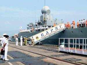 A top naval official said the ongoing exercise between India and Russia in Bay of Bengal would help develop common understanding of procedures for maritime security operations between the two Navies.