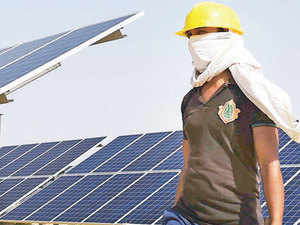"""On the sidelines of the climate talks in Paris, a group of solar experts from Stanford University released a report calling India's solar goals a """"global priority""""."""