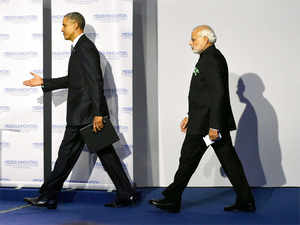 In Paris last week, Obama had met Modi on the sidelines of the climate change summit. He had also met his Chinese counterpart.