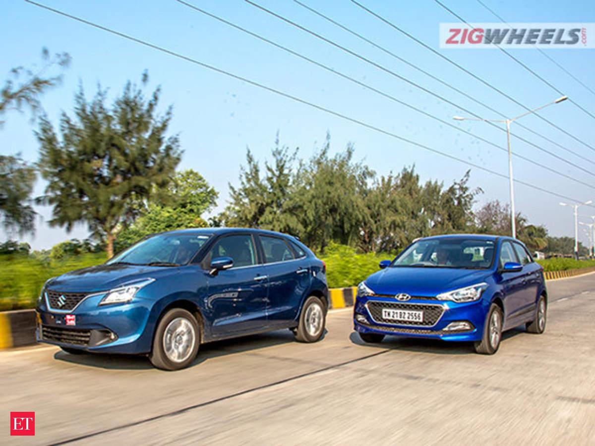 Can Maruti Suzuki's Baleno beat the best-selling premium hatchback, the Hyundai  Elite i20? - The Economic Times