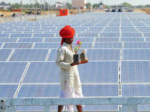 India is bullish on solar energy, with prime minister Narendra Modi keen to replicate his Gujarat success across India to reduce the impact of climate change.