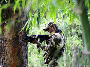 (Representative image) A Chhattisgarh Armed Force (CAF) jawan was today killed when Naxals attacked the policemen near their camp in Narayanpur district in the state.