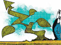 Keerthi Industries was up 5 per cent at Rs 249.90. Heidelberg, JK Cement, Panyam Cements and KCP advanced between 2.2 per cent and 2.6 per cent.