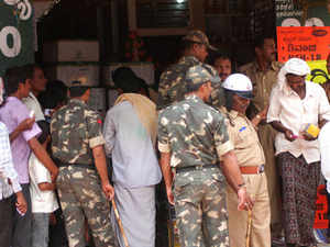 File Photo: Bt cotton seeds were sold amidst tight police security in Mysore.