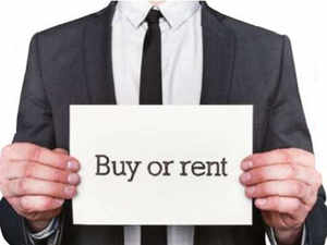 From a purely financial angle, Bengalureans, primarily the floating population which changes job and city every three to four years, are just better off renting.