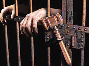 JD(U) MLA Ramesh Prasad Kushwaha surrendered in a district court here in an 18-year-old murder case in Siwan district and was sent to judicial custody.