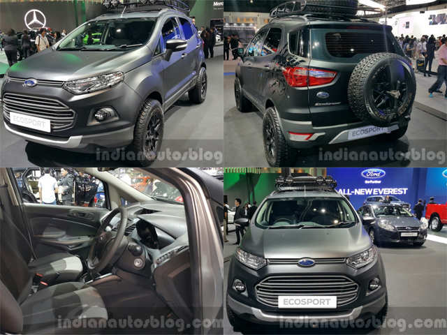 All You Need To Know About Ford Ecosport S Matte Black