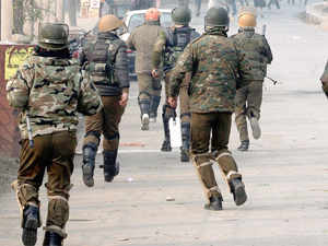 It is learnt that permission for state Police Chief K Rajendra and Inspector General (CID) A G Mir to leave for the conference was not given by Chief Minister Mufti Sayeed.