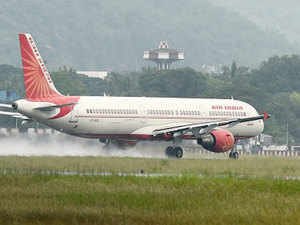 The pilot and co-pilot of an Air India plane involved in last night's freak accident at the Mumbai airport have been grounded.