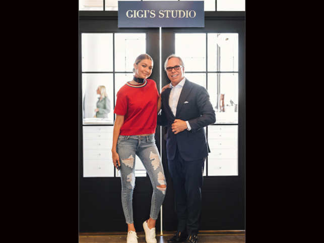 965165c3 Hadid will appear in the campaigns for the brand's women's wear line  beginning Fall 2016.
