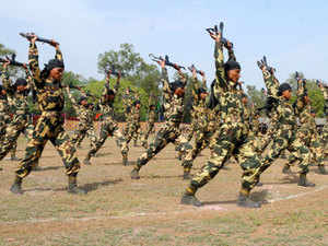 (Representative picture) India has trained nearly 13,000 foreign defence personnel at various training academies of the armed forces in the country since 2012.