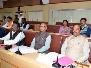 A view of the on-going winter session of Jharkhand Assembly.