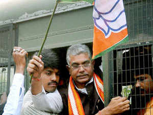 BJP central leadership has given a free hand to Dilip Ghosh to reshuffle several committees to enable BJP to fight Trinamool Congress government effectively.