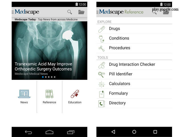 Five best Android apps for doctors - Five best Android apps
