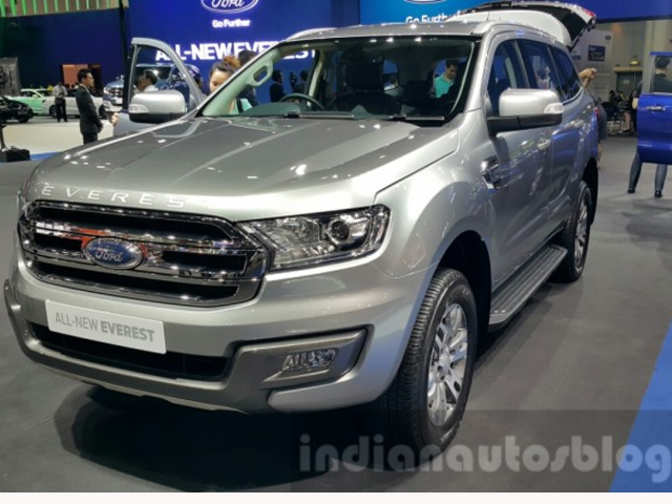 New Ford Endeavour To Launch In India On January 19