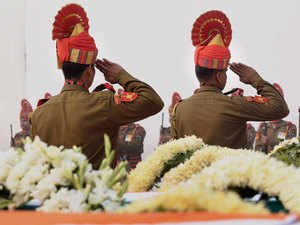 Haryana government announced financial assistance of Rs 20 lakh each to the kin of the three personnel, hailing from the state, who were killed in the BSF plane crash.
