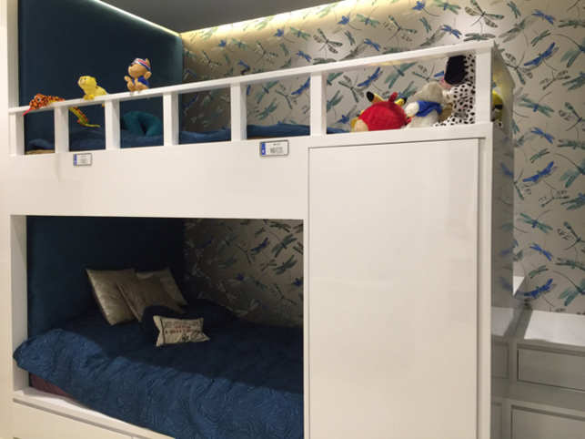 No more do parents want childish themes for their kids' bedrooms. Cartoons and stuffed toys have been replaced with quality and panache.