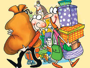 The newbies' gang of Flipkarts and Snapdeals are forcing Ambanis and Birlas of supermarket chains to join the burgeoning e-commerce landscape.
