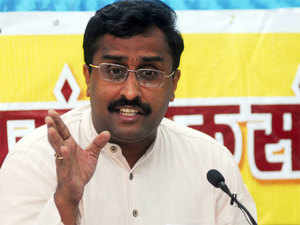 "Ram Madhav has said that parts of India - including Pakistan and Bangladesh - which were separated 60 years ago, will reunite to form ""Akhand Bharat"" (undivided India)."