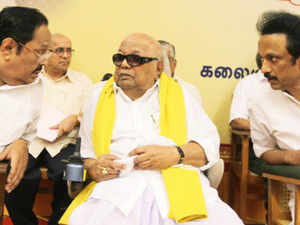 DMK President M Karunanidhi urged his party cadres to contribute more and start working resolutely for the assembly polls due early next year in Tamil Nadu.