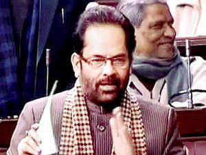 A minister of state in the Vajpayee government of the late '90s, Naqvi staged a comeback after 15 years when he was inducted into the Modi Cabinet.
