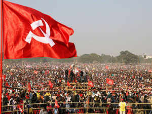 """Trinamool Congress today claimed the CPI(M)'s rally, at the start of the five-day plenum, at the Brigade Parade Ground here was """"deviod of crowd""""."""