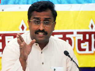 "BJP has distanced from party general secretary Ram Madhav's remarks about India, Pakistan and Bangladesh reuniting as ""Akhand Bharat""."