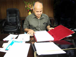 Sisodia's letter was written on a day when the battle between the Centre and Delhi Government escalated on Sunday.