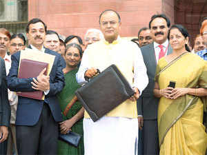 Media personnel with valid PIB cards are allowed to enter North Block, the seat of Finance Ministry, without a prior appointment.