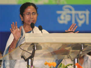 Banerjee said her government was engaged in developing infrastructure in the state because 'if there is infrastructure there will be jobs'.