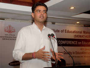 "Sachin Pilot said the country was passing through a ""crisis"" period under the NDA government and people hopes that the party would return to power."
