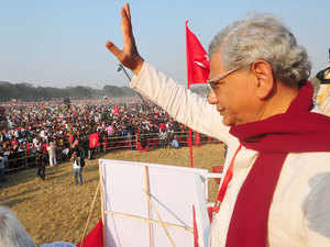 The matter of forming an alliance with Congress ahead of the 2016 Assembly poll would be first discussed and debated in the CPI-M's Bengal unit in January, party general secretary Sitaram Yechury today said.