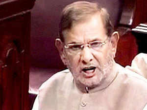"""JD(U) chief Sharad Yadav today came out against Lok Sabha Speaker's proposal for a new Parliament building, saying it will amount to """"destroying a historical monument and historical temple of democracy""""."""