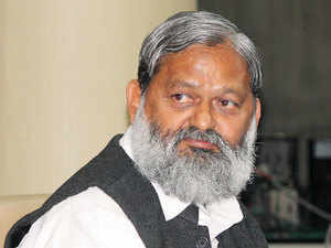 Anil Vij made a series of tweets as BJP gloated over Congress' embarrassment following publication of articles critical of Nehru and Sonia Gandhi in its mouthpiece.