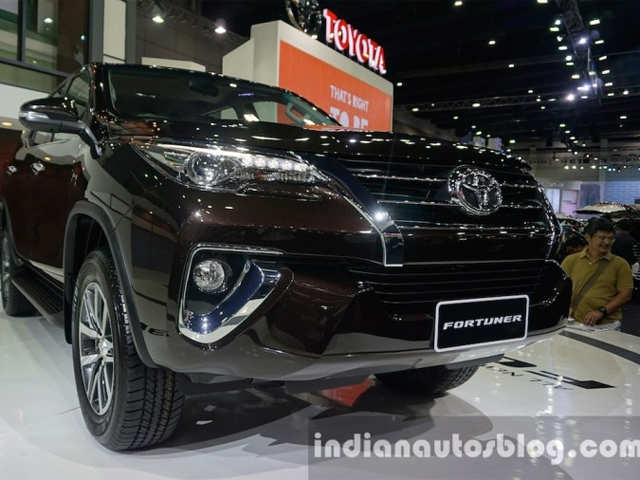 Toyota Fortuner: Least Powerful Model