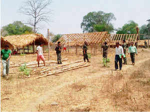 (Representative picture) 23 Naxals surrendered before Chhattisgarh officials in Bastar district.