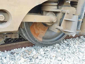 The rail traffic on Ambala-Ludhiana section got disrupted when two bogies of a Ludhiana-bound goods train today derailed near Ambala Cantt railway station.