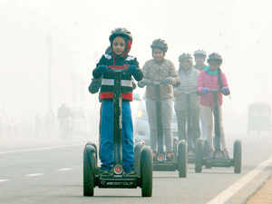 Although air quality on the first day of 2016 will continue to remain very poor in Delhi, it will be much better as compared to the first day of 2015.