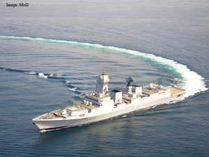 The system is to be deployed as the major missile system on the largest indigenously-built warship, INS Kolkata, which was inducted last year.