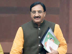 Party sources say three former Chief Ministers, who are now members of parliament - Bhagat Singh Koshyari, Bhuwan Chandra Khanduri, Ramesh Pokhriyal(seen in the picture) - are in the fray.
