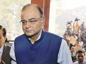 """Congress has said even Trinity of Gods cannot make GST happen soon. God's don't vote in Parliament but MPs do,"" Jaitley said."